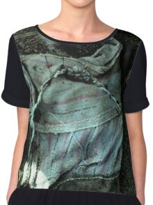 The Garbage Collection- Like A Glove.  Chiffon Top
