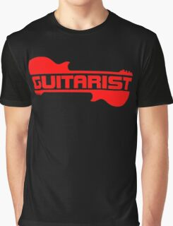 Guitarist ( Red) Graphic T-Shirt