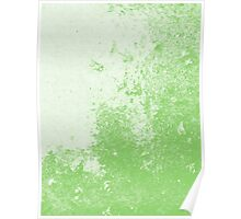 Earth Sweat Design (Green Flash Color) Poster