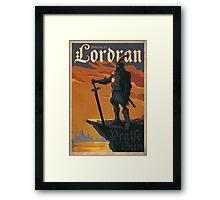 lordran Framed Print