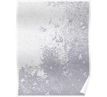 Earth Sweat Design (Lilac Gray Color) Poster