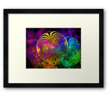Radiant Eclipse Framed Print