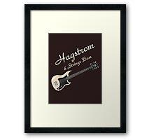 Hagstrom Bass 8 Strings Framed Print