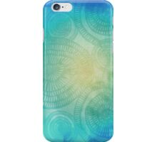 vibrant circle doodle pattern  iPhone Case/Skin