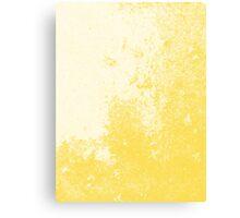 Earth Sweat Design (Buttercup Color) Canvas Print