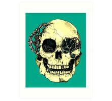 Steampunk Skull Art Print