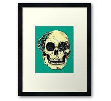 Steampunk Skull Framed Print