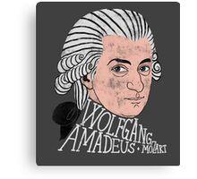 Wofgang Amadeus Mozart Canvas Print