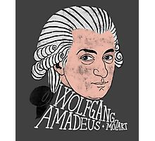 Wofgang Amadeus Mozart Photographic Print