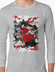 Samurai Fighting Long Sleeve T-Shirt