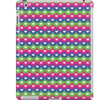 Fish scales and hearts- Summer ideas Bright tones- Party iPad Case/Skin