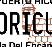 PR License Plate - Boricua Sticker