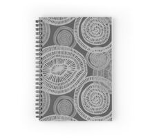 circle doodle pattern Spiral Notebook