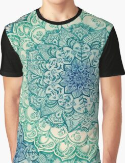 Emerald Doodle Graphic T-Shirt