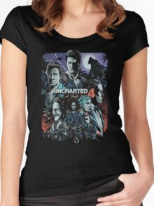 Uncharted 4 [4K] Women's Fitted Scoop T-Shirt