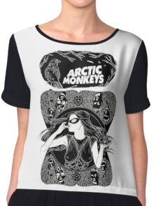 arctic monkey Chiffon Top