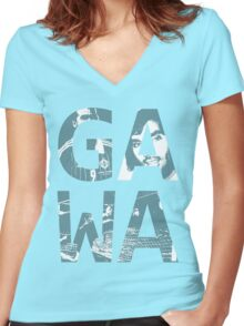 GAWA Northern Ireland Women's Fitted V-Neck T-Shirt