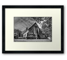 The Church at Balquhidder, Framed Print