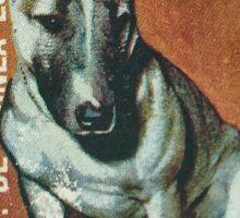 Bull Terrier Stamp Sticker