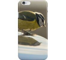 Blue Tit, a new logo on my car? iPhone Case/Skin