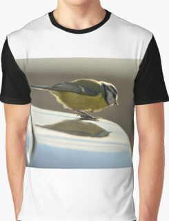 Blue Tit, a new logo on my car? Graphic T-Shirt