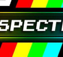 zx spectrum videoconsole retro Sticker