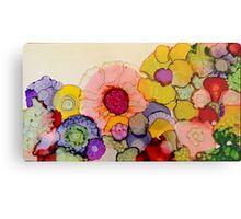 """In Full Bloom"" - Colorful Unique Original Artist's Floral Design! Metal Print"