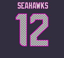 Lady Seahawks - 12th Man Womens Fitted T-Shirt