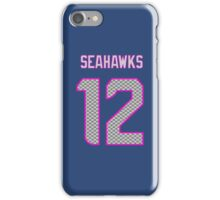 Lady Seahawks - 12th Man iPhone Case/Skin