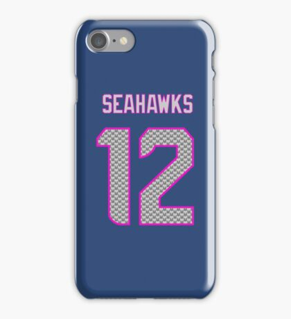 Lady Seahawks - 12th Man iPhone Case/Skin