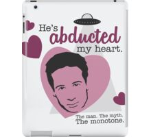 David Duchovny, why don't you love me? iPad Case/Skin