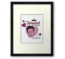 David Duchovny, why don't you love me? Framed Print
