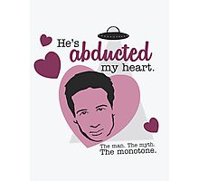 David Duchovny, why don't you love me? Photographic Print