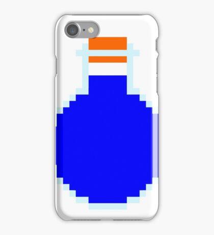 Mana potion (pixel art) iPhone Case/Skin