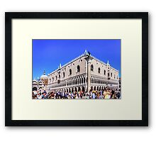 Palazzo Ducale Framed Print
