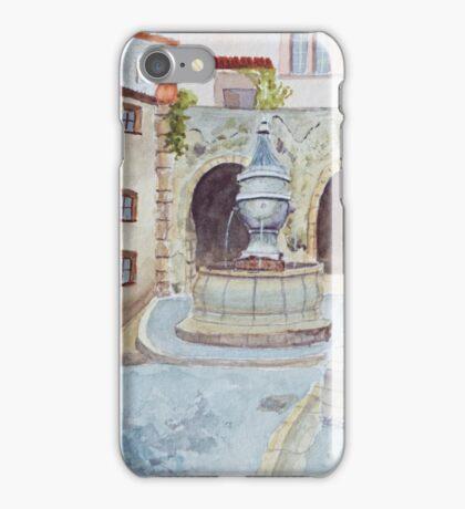 St Paul de Vence by John Rees iPhone Case/Skin