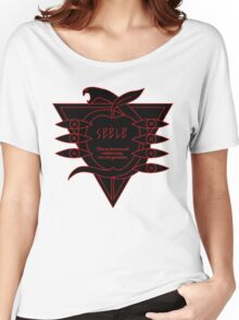 black red logo seele Women's Relaxed Fit T-Shirt