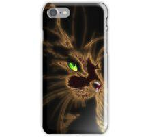 Gold Cat by Bluesax iPhone Case/Skin