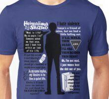 Heiwajima Shizuo Quotes Unisex T-Shirt