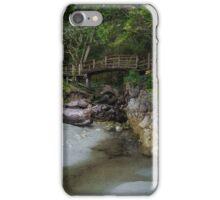 Foot bridge at Tofino iPhone Case/Skin