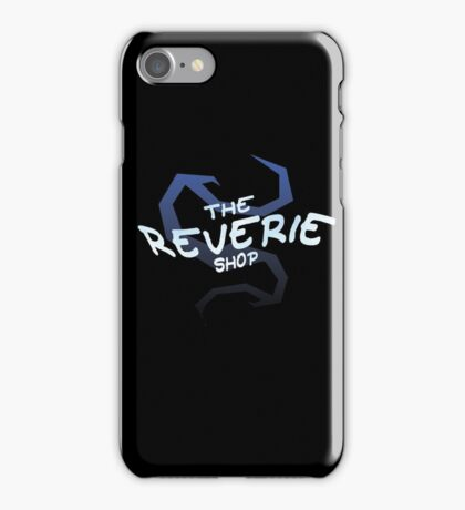 THE REVERIE SHOP NEW LOGO! iPhone Case/Skin