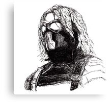 Winter Soldier art 2 Canvas Print