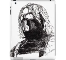 Winter Soldier art 2 iPad Case/Skin