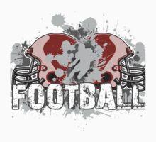 American football design Baby Tee