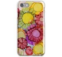 """Late Summer Blooms"" - Colorful Unique Original Floral Painting! iPhone Case/Skin"