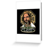 St. James Bitter Ale Greeting Card