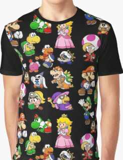 Paper Mario Collection Graphic T-Shirt
