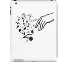 hand of musician iPad Case/Skin