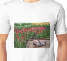 Tulips And Anchor Unisex T-Shirt