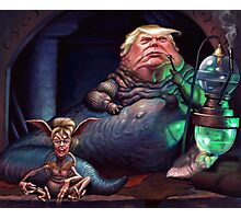 Jabba the Trump Photographic Print
